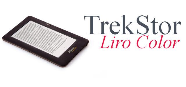 eBook Reader TrekStor Liro Color mit WLAN und Android 2.1