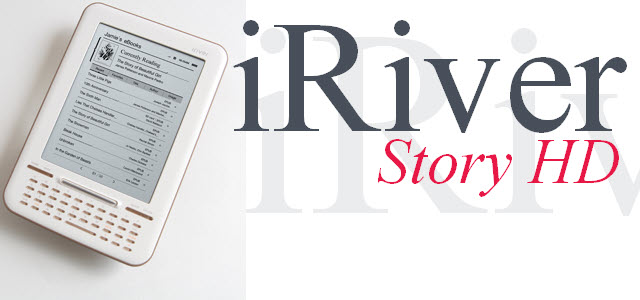 iRiver – Story HD eBook Reader