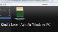 Kindle Lese App für Windows