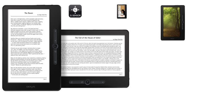 "9"" eBook Reader Odys Leon"