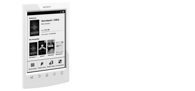 Sony Reader PRS-T2 für 49 Euro, generalüberholt