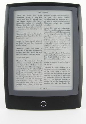 Cybook Odyssey eBook Ansicht - 2-spaltig
