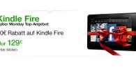 Kindle Fire für 129 an Cybermonday