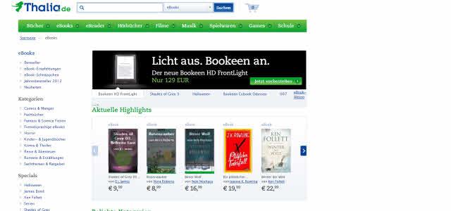 eBook Anbieter (1): Thalia.de