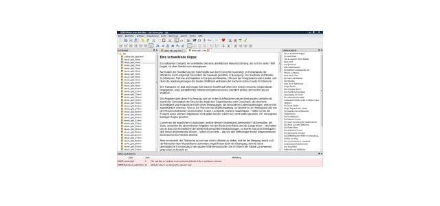 eBooks erstellen, editieren und anzeigen mit Sigil