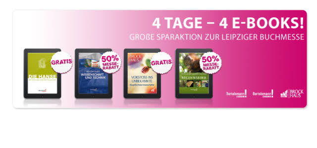 eBook Sparaktion zur Buchmesse bei Pageplace