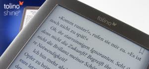 Lesen mit tolino shine