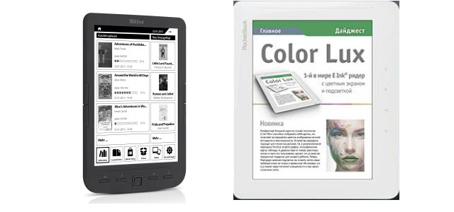 Neue eBook Reader: Pyrus Maxi und  PocketBook Color Lux
