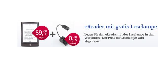 Cybook Odyssey für 59 Euro inklusive kostenloser Leselampe