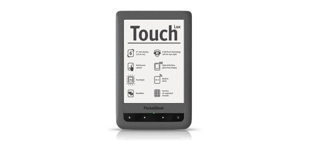 Neuer eBook Reader bei eBook.de: Pocketbook Touch Lux