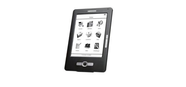 MEDION LIFE eBook Reader P6301 (MD 86371) für 49 Euro