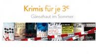 Kindle eBooks: 8 Krimi eBooks für je drei Euro