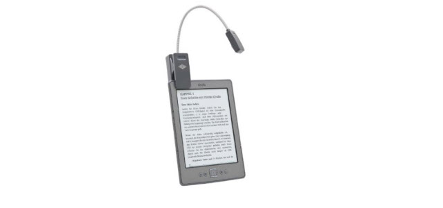 Test: Wedo 2541501LED Leselampe für eBook Reader