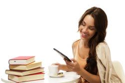 Frau / eBooks / Bücher / eBook Reader