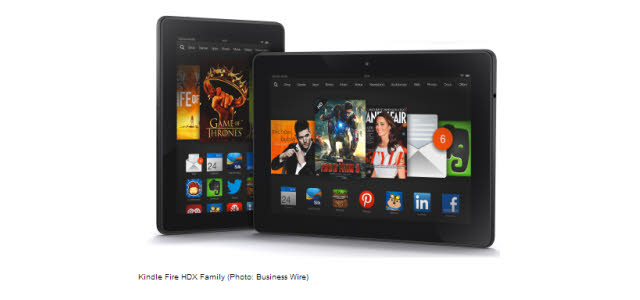 Neue Kindle Fire Tablets: Kindle Fire HDX