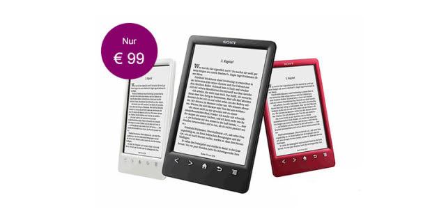 Sony Reader PRS-T3S ab 99 Euro (Sondermodell)