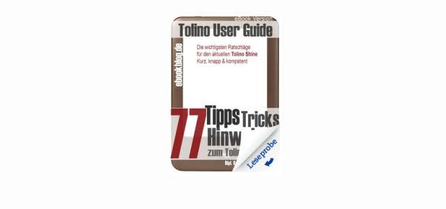 77 Tipps für den Tolino – eBook Ratgeber