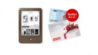 20 Euro Geschenkkarte beim Kauf eines Tolino shines bei Weltbild