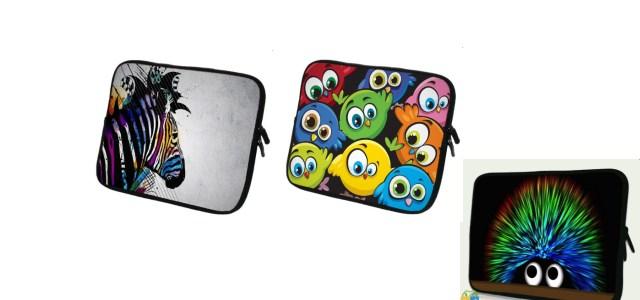 Schöne Design Taschen für Tolino, Kindle und CoBring Farbe in Dein Leben