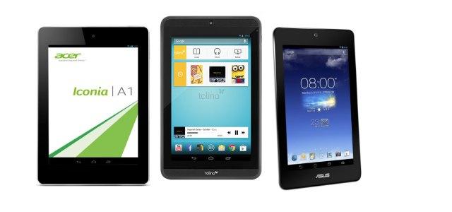 Günstige und sehr gute Tablets (auch) für eBooks