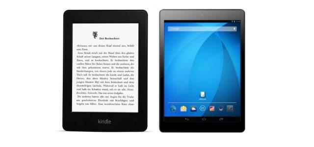 Kindle Paperwhite 3G (Vorgängermodell) ab 18 Uhr als Blitzangebot dazu: Odys Sky Plus 3G Tablet ab 17 Uhr