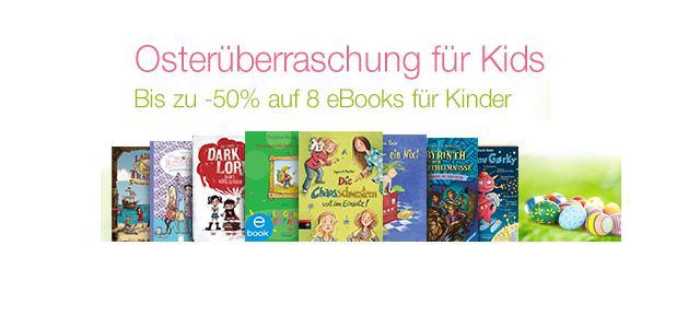 Tolle Kindle Kinder eBooks für Ostern mit 50% Preisvorteil