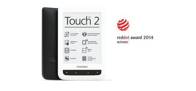 PocketBook Touch Lux 2 gewinnt RED DOT Produktdesignpreis