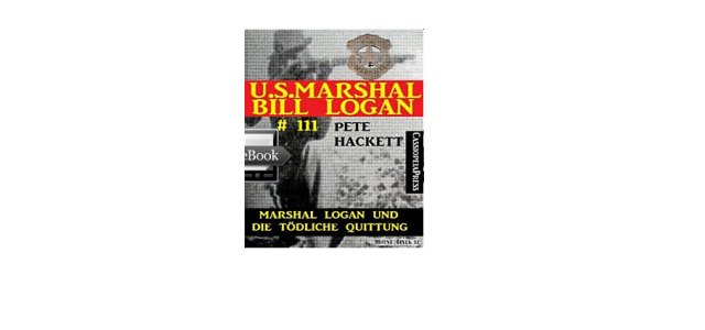 eBook Serie für Western Fans: U.S. Marshal Bill Logan
