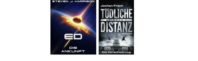 Neue eBook SerienED – Die Ankunft und Tödliche Distanz