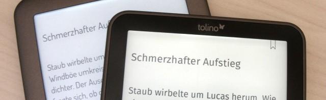 Umfangreiches Tolino shine Software Update auf Version 1.4.5
