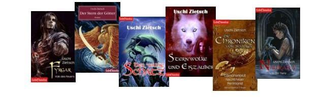 Uschi Zietsch: Beste Fantasy, viel Lesestoff – kleiner Preis