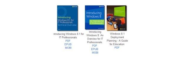 Hunderte Gratis eBooks von Microsoft für Windows, Office, Programierung…