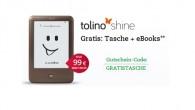 Neues Tolino shine Bundle mit Gratis Tasche