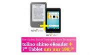 Tolino Shine und Tab 7 Doppelpack für 198 Euro