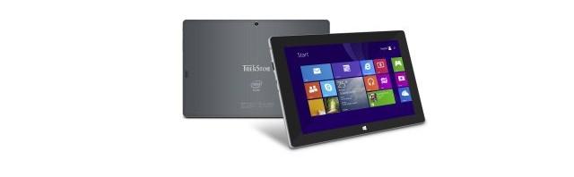 TrekStor präsentiert sein erstes Windows Tablet