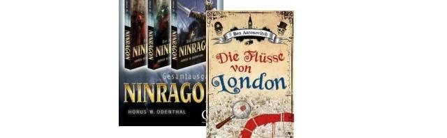 Fantasy Lesetipps: Die Flüsse von London / Ninragon