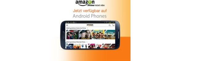 Prime Instant Video jetzt auch für Android