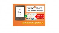 Tolino shine Bundle mit 2 Ken Follet eBooks