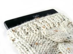 eBook Reader Tasche selbst gestrickt