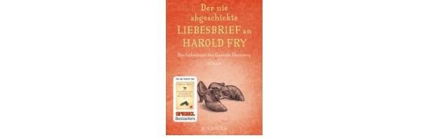 Der nie abgeschickte Liebesbrief an Harold Fry (Lesetipp)