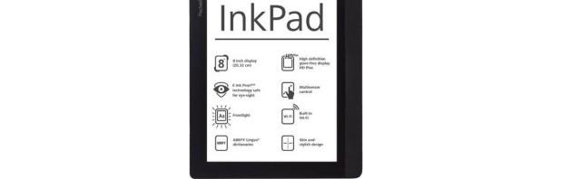 "8"" eBook Reader PocketBook Inkpad erhältlich"
