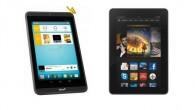 Tablets im Angebot: Tolino Tab 7 vs. Kindle Fire HDX 7