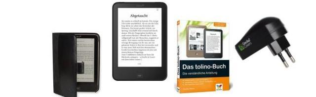 Das Tolino Vision 2 Start Paket