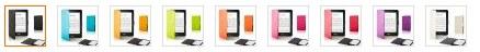 Forefront Cases® Lederetuis Shell Hülle für den Kindle Voyage - Farbvarianten