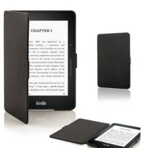 Forefront Cases® Lederetuis Shell Hülle für den Kindle Voyage
