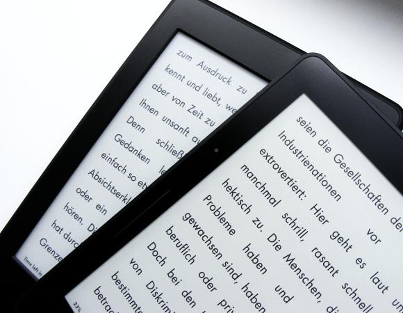 Kindle Paperwhite und Kindle Voyage