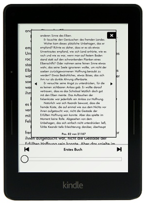 Kindle Voyage - PageFlip Funktion