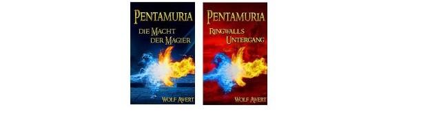 Pentamuria Saga für Kindle: von Nill, dem Zauberlehrling