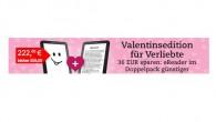 Tolino vision 2 Bundle Angebot mit 2 eReadern für Verliebte für 222€