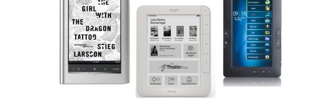 """Faszinierende eBook Reader Angebote, teils """"historisch"""", aber oft musikalisch"""